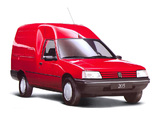 Photos of Peugeot 205 Fourgonnette 1994–98