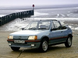 Peugeot 205 CTI UK-spec 1991–93 wallpapers