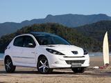 Peugeot 207 5-door Quiksilver 2011 wallpapers