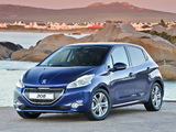 Peugeot 208 5-door ZA-spec 2012 photos