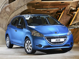 Pictures of Peugeot 208 5-door ZA-spec 2012