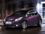 Peugeot 208 XY 3-door 2012 wallpapers