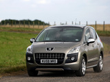 Images of Peugeot 3008 UK-spec 2009