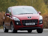 Photos of Peugeot 3008 UK-spec 2009