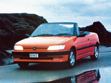 Peugeot 306 Cabriolet AU-spec 1994–97 wallpapers
