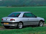 Peugeot 306 Cabriolet 1997–2002 photos