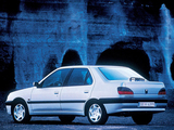 Peugeot 306 Sedan 1997–2000 wallpapers