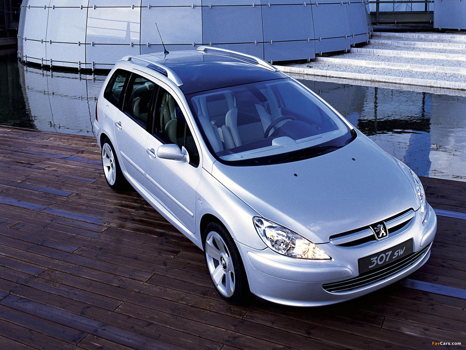 Peugeot 307 Sw Concept 2001 Images 1600x1200