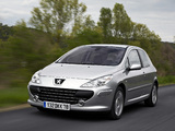 Peugeot 307 3-door 2005–08 photos