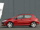 Pictures of Peugeot 308 GT THP 175 5-door UK-spec 2008–10