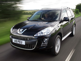 Photos of Peugeot 4007 UK-spec 2007–12