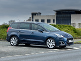 Peugeot 5008 UK-spec 2013 pictures