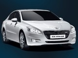 Images of Peugeot 508 HYbrid4 2012
