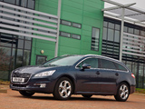 Peugeot 508 SW UK-spec 2011 wallpapers