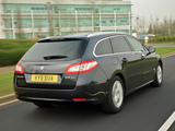 Photos of Peugeot 508 SW UK-spec 2011
