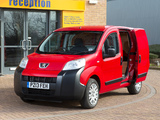 Peugeot Bipper UK-spec 2008 photos