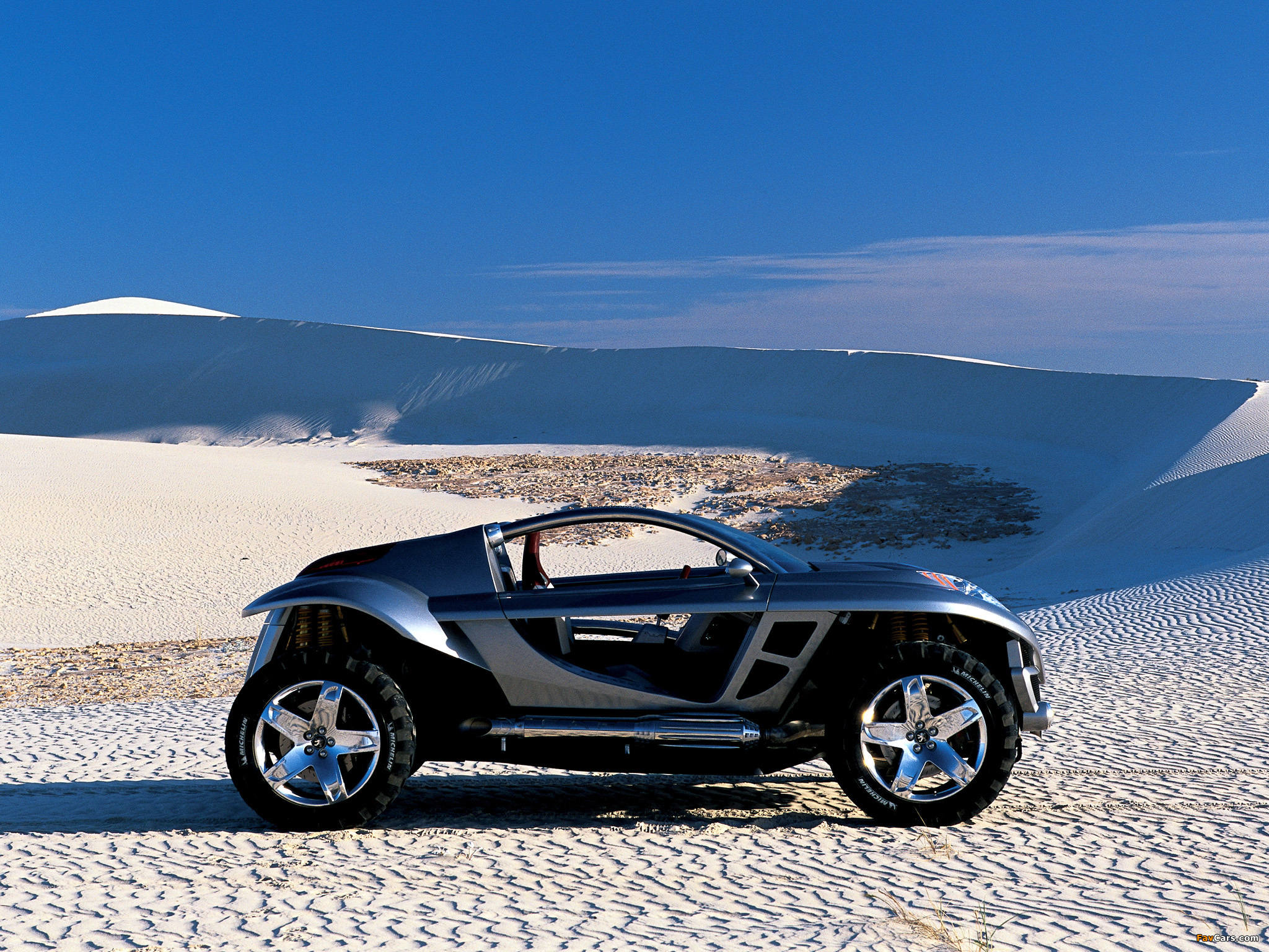 Wallpapers of Peugeot Hoggar Concept 2003 (2048x1536)