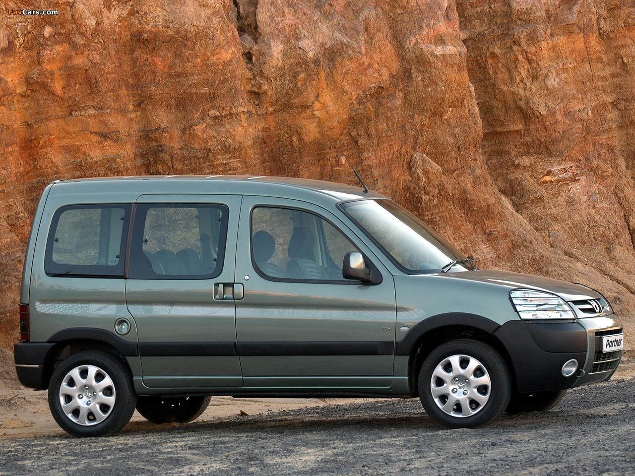 Peugeot Partner Za Spec 2002 08 Images 1280x960