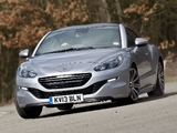 Peugeot RCZ UK-spec 2013 wallpapers