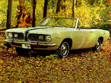Plymouth Barracuda Convertible (BH27) 1967 wallpapers