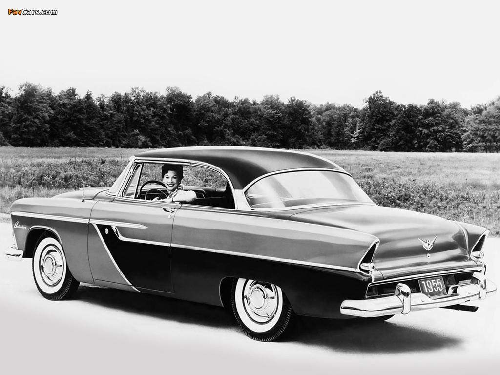 Plymouth Belvedere 2 Door Sport Sedan 1955 Images 1024x768