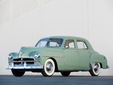Pictures of Plymouth Special DeLuxe 4-door Sedan 1950