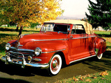 Plymouth Special DeLuxe Convertible (P15C) 1948 photos