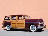 Plymouth Special DeLuxe Station Wagon 1949 wallpapers