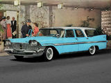 Plymouth Sport Suburban 1959 photos