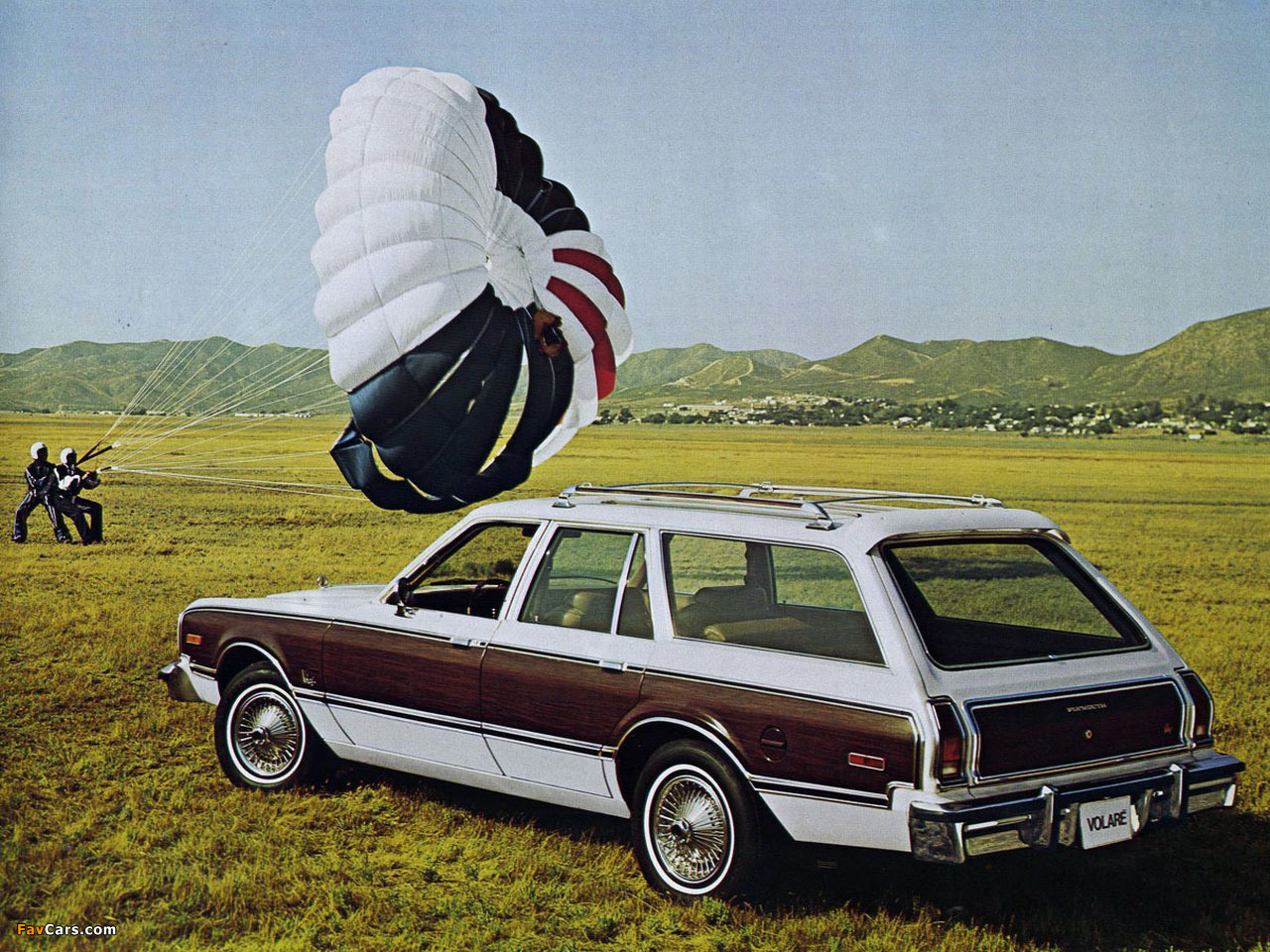 Pictures Of Plymouth Volare Station Wagon Hl 45 1976 80