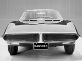 Pictures of Pontiac Banshee XP-798 Concept Car 1966