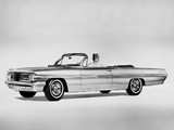 Pontiac Bonneville Convertible 1962 wallpapers