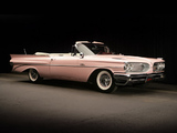 Pontiac Catalina Convertible Pink Lady by Harly Earl 1959 pictures
