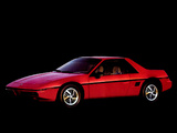 Pictures of Pontiac Fiero 1984–88