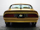 Images of Pontiac Firebird Trans Am Gold Special Edition 1978