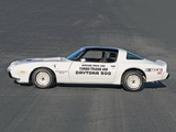 Pontiac Firebird Trans Am Turbo Pace Car 1981 wallpapers