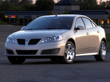 Pontiac G6 Sedan 2009 wallpapers