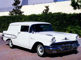 Pontiac Sedan Delivery 1957 wallpapers