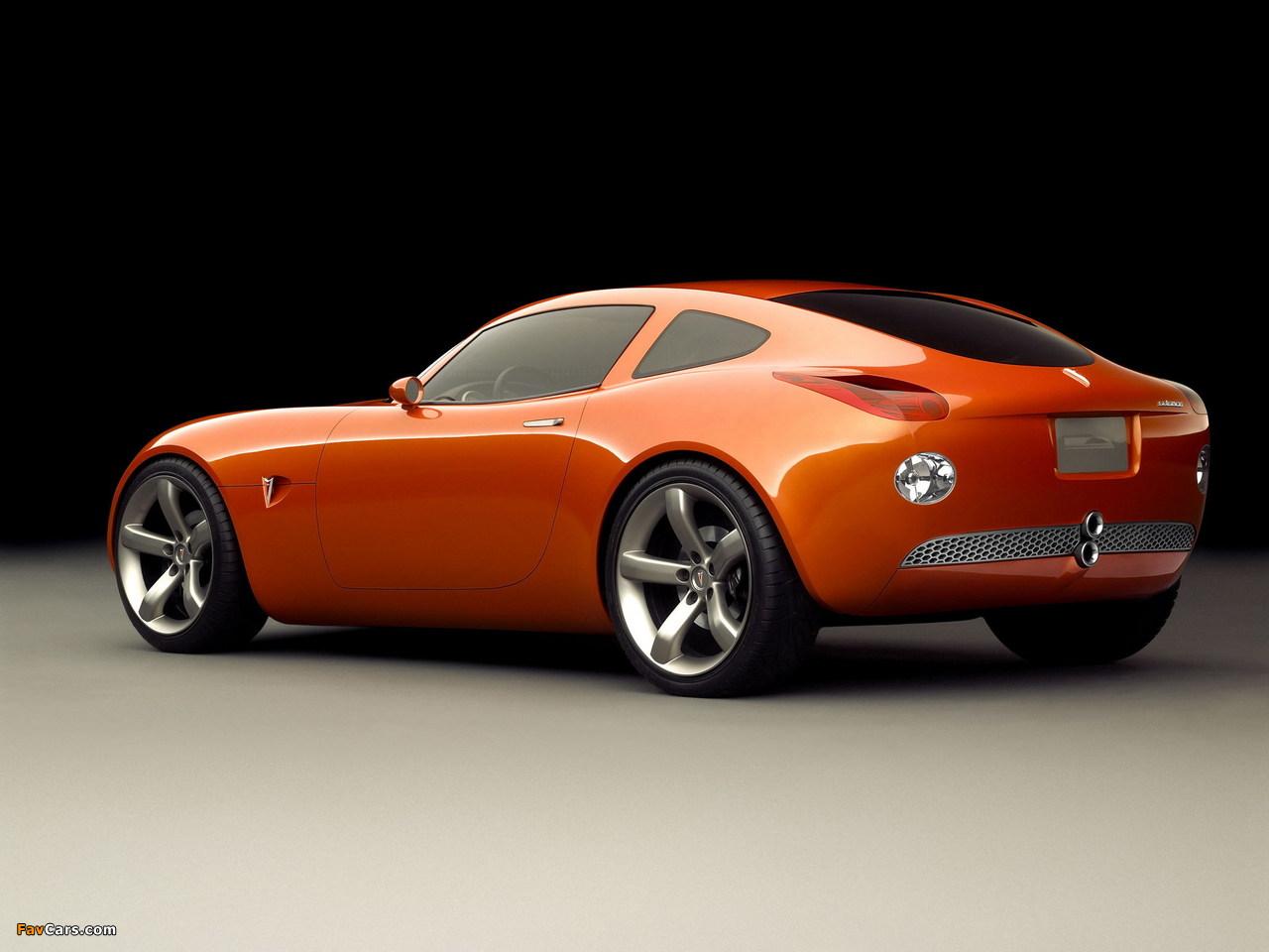 Pontiac Solstice Coupe Concept 2002 pictures (1280 x 960)