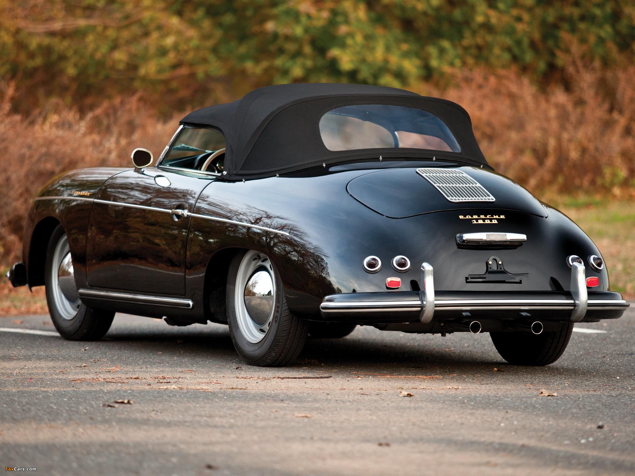 Porsche 356 Speedster By Reutter 1955 Photos 2048x1536