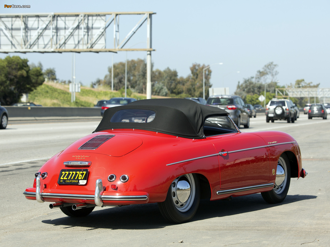 Wallpapers Of Porsche 356a 1500 Speedster 1955 1280x960