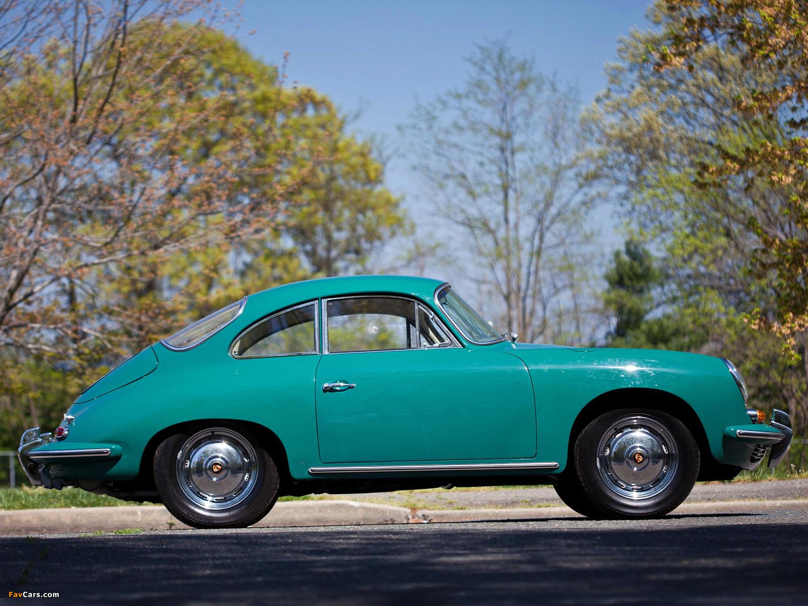 Porsche 356b 1600 Super 90 Coupe T6 1962 63 Images 1600x1200