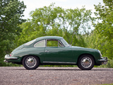 Pictures of Porsche 356C 1600 Coupe by Karmann 1964