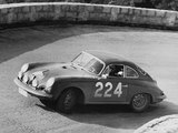 Porsche 356C Carrera 2 Coupe Monte-Carlo Rally 1964 wallpapers