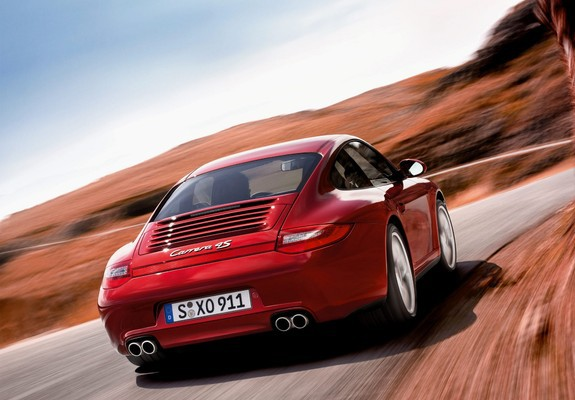 Images Of Porsche 911 Carrera 4s Coupe 997 2008 12