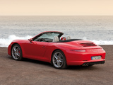 Images of Porsche 911 Carrera S Cabriolet (991) 2011