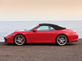 Photos of Porsche 911 Carrera S Cabriolet (991) 2011