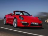 Porsche 911 Carrera S Cabriolet (991) 2011 wallpapers