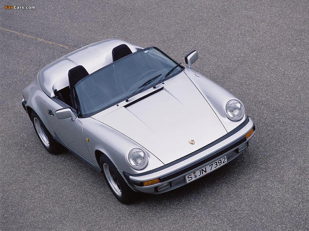 Photos Of Porsche 911 Carrera Speedster 930 1989 1024x768