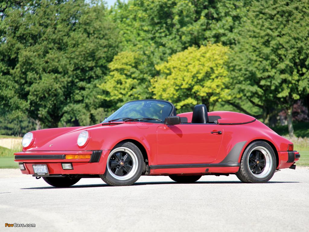 Pictures Of Porsche 911 Carrera Speedster Turbolook 930 1989 1024x768